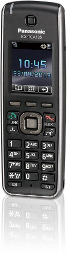 Panasonic KX-TCA185 DECT telephone handset Black