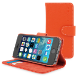 "TheSnugg B00PY138XQ 4"" Folio Orange mobile phone case"