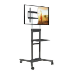"DoubleSight Displays Mbile TV Cart 32-70"" 132lb"