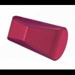 Logitech X300 Stereo portable speaker Red