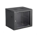 Microconnect CABINET7 rack cabinet 6U Wall mounted rack Black