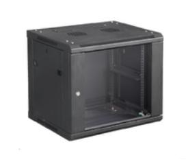 Microconnect CABINET7 rack cabinet 6U Wall mounted rack Black