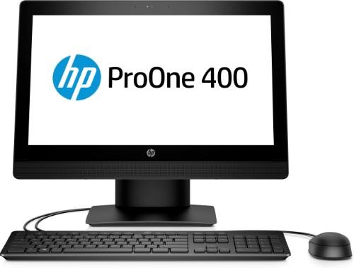 "HP ProOne 400 G3 50.8 cm (20"") 1600 x 900 pixels 3.4 GHz 7th gen Intel® Core™ i5 i5-7500 Black All-in-One PC"