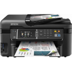 Epson WorkForce WF-3620DWF A4 Colour Inkjet Wireless Multifunction Printer