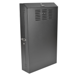 Tripp Lite 6U SmartRack Low-Profile Wall-Mount Rack Enclosure Server Cabinet Vertical-Mount Server-Depth