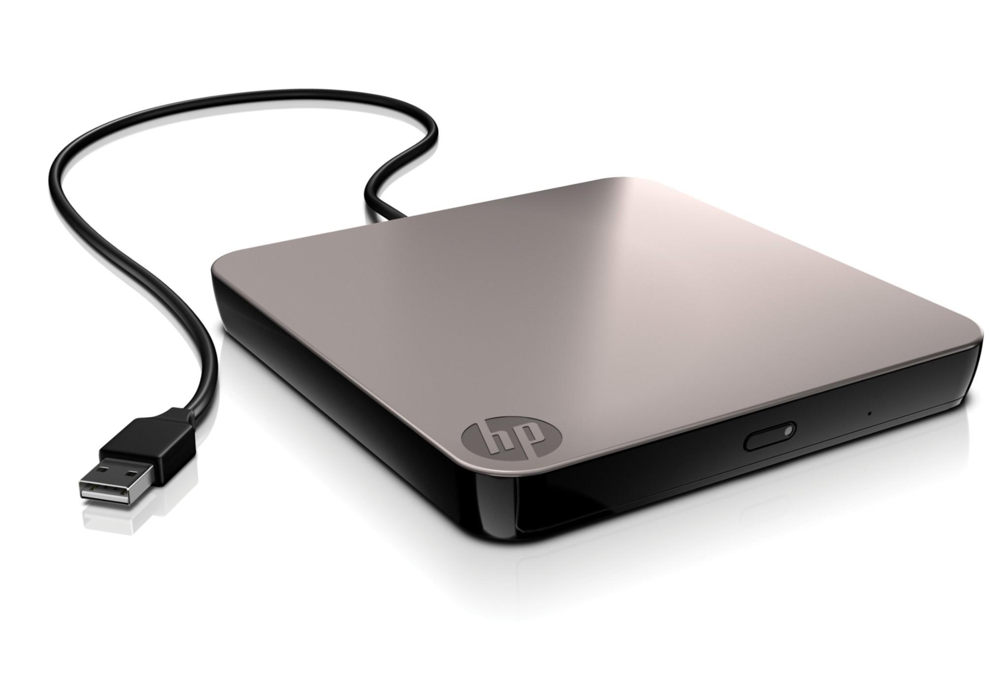 HP Mobile USB NLS DVD-RW Drive optical disc drive DVD-�RW Black