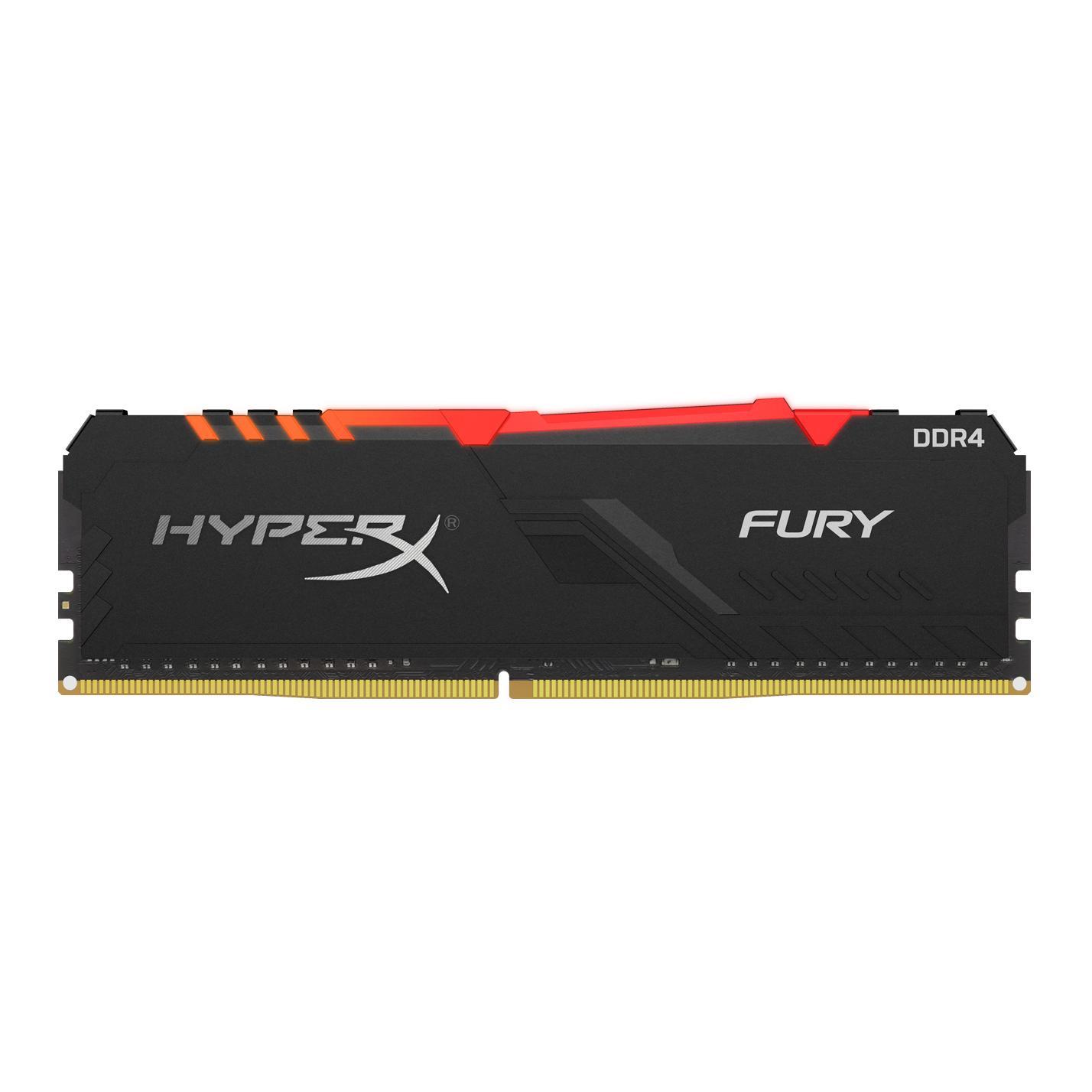 HYPERX FURY HX424C15FB3A/8 MEMORY MODULE 8 GB DDR4 2400 MHZ