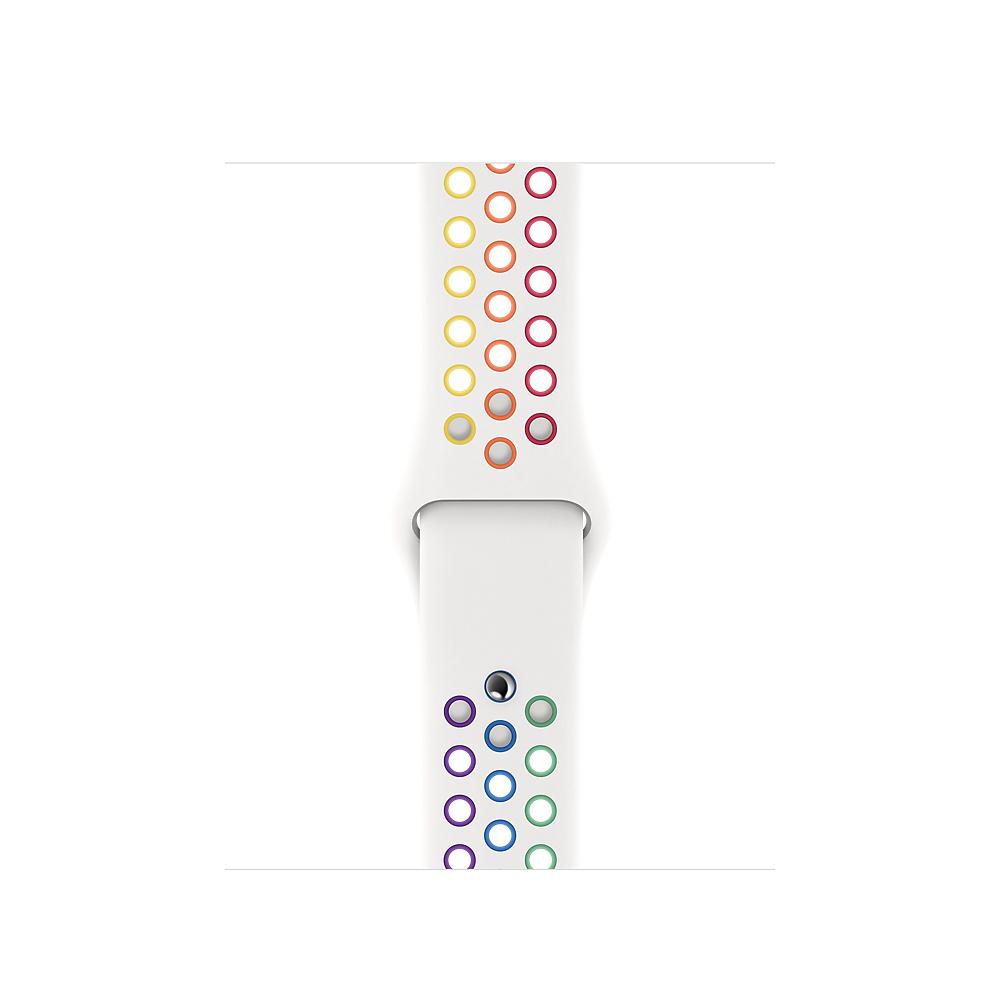 Apple MYD52ZM/A accesorio de relojes inteligentes Grupo de rock Multicolor, Blanco Fluoroelastómero