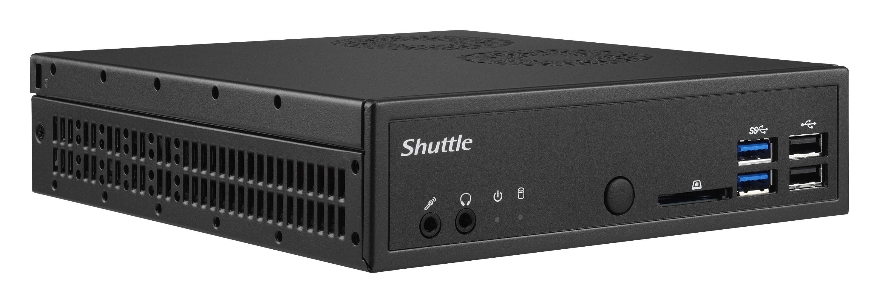 Shuttle DH110 Intel H110 LGA1151 1.3L sized PC Black barebone