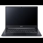 """Acer TravelMate X5 X514-51-7411 Notebook Black 35.6 cm (14"""") 1920 x 1080 pixels 8th gen Intel® Core™ i7 8 GB DDR4-SDRAM 512 GB SSD Wi-Fi 5 (802.11ac) Windows 10 Pro"""