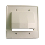 Calrad Electronics 28-CER-2 switch plate/outlet cover