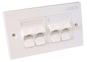 Lindy 60570 wall plate/switch cover White