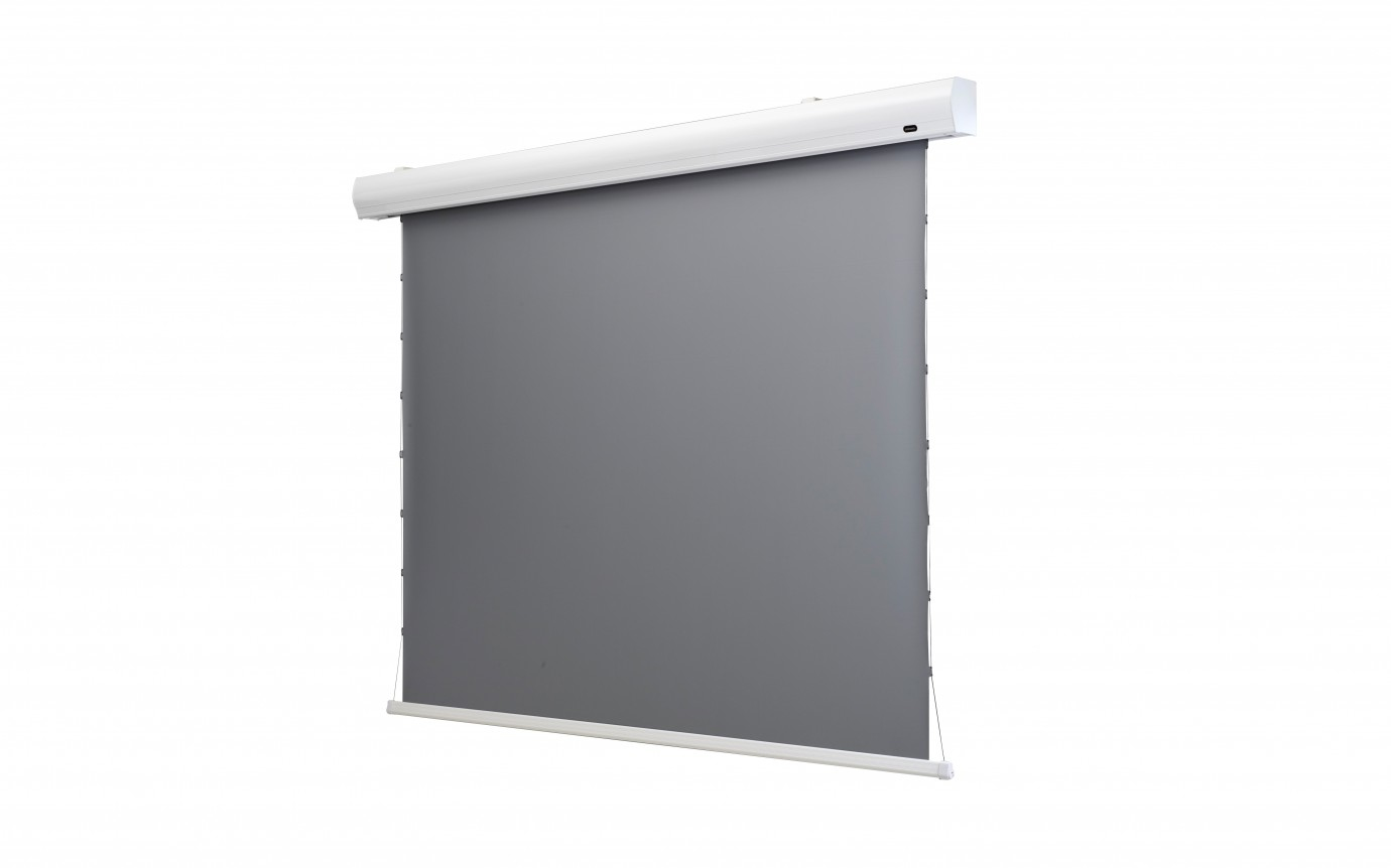 "Celexon HomeCinema - 243cm x 136 cm - 110"" Diag - Dynamic Slate ALR Electric Tensioned High Contrast screen"