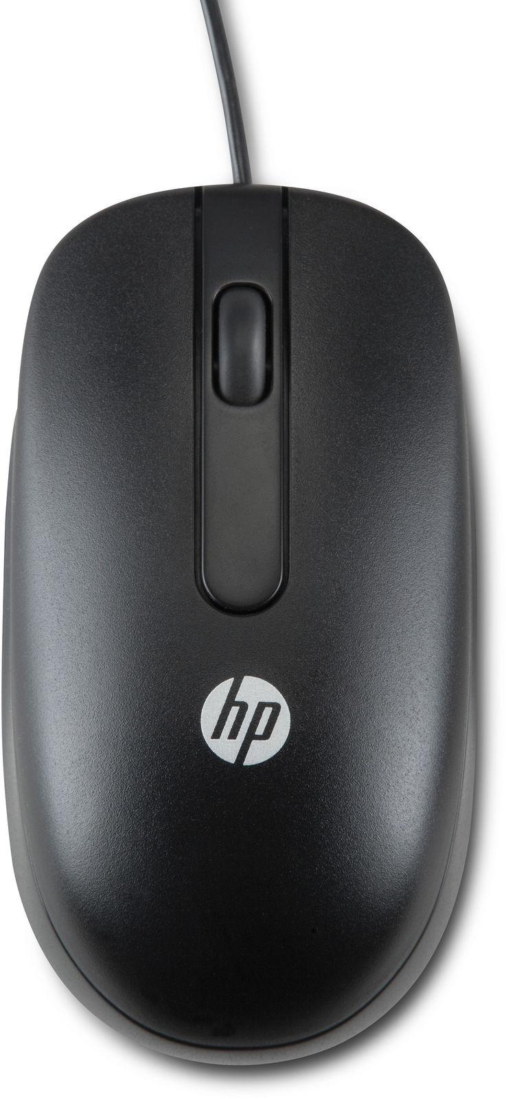 HP USB Optical Scroll mouse Laser 1000 DPI Ambidextrous