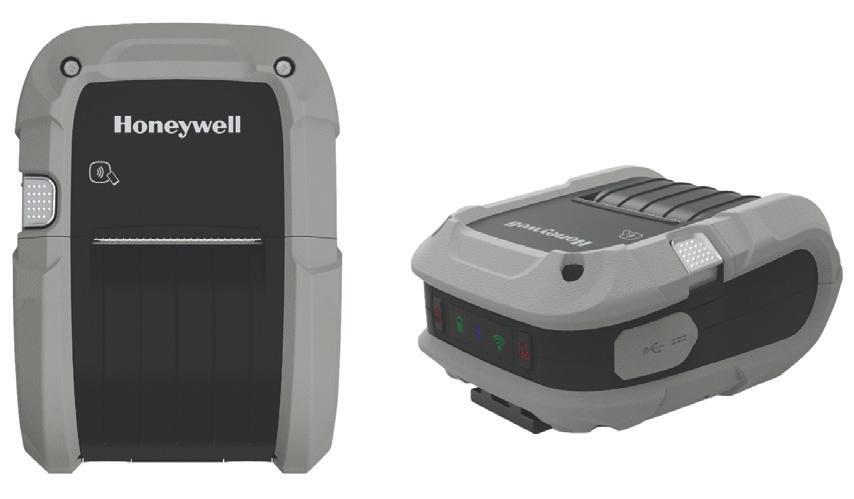 Honeywell RP4 Térmica directa Impresora portátil 203 x 203 DPI Inalámbrico y alámbrico