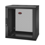 APC NetShelter WX 12U Single Hinged Wall-mount Enclosure 400mm Deep Wall mounted rack Black