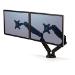 Fellowes 8042501 flat panel desk mount Clamp/Bolt-through Black