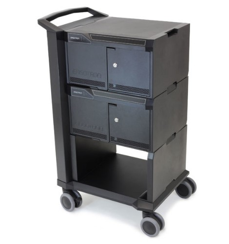 Ergotron 24-376-085 tablet Multimedia cart Black multimedia cart/stand