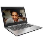 "Lenovo IdeaPad 320 14"" Full HD Laptop Intel Core i3-7100U 8GB RAM 128GB SSD Windows 10 Home Grey - 80XK0124"