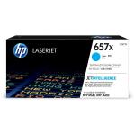 HP CF471X (657X) Toner cyan, 23K pages