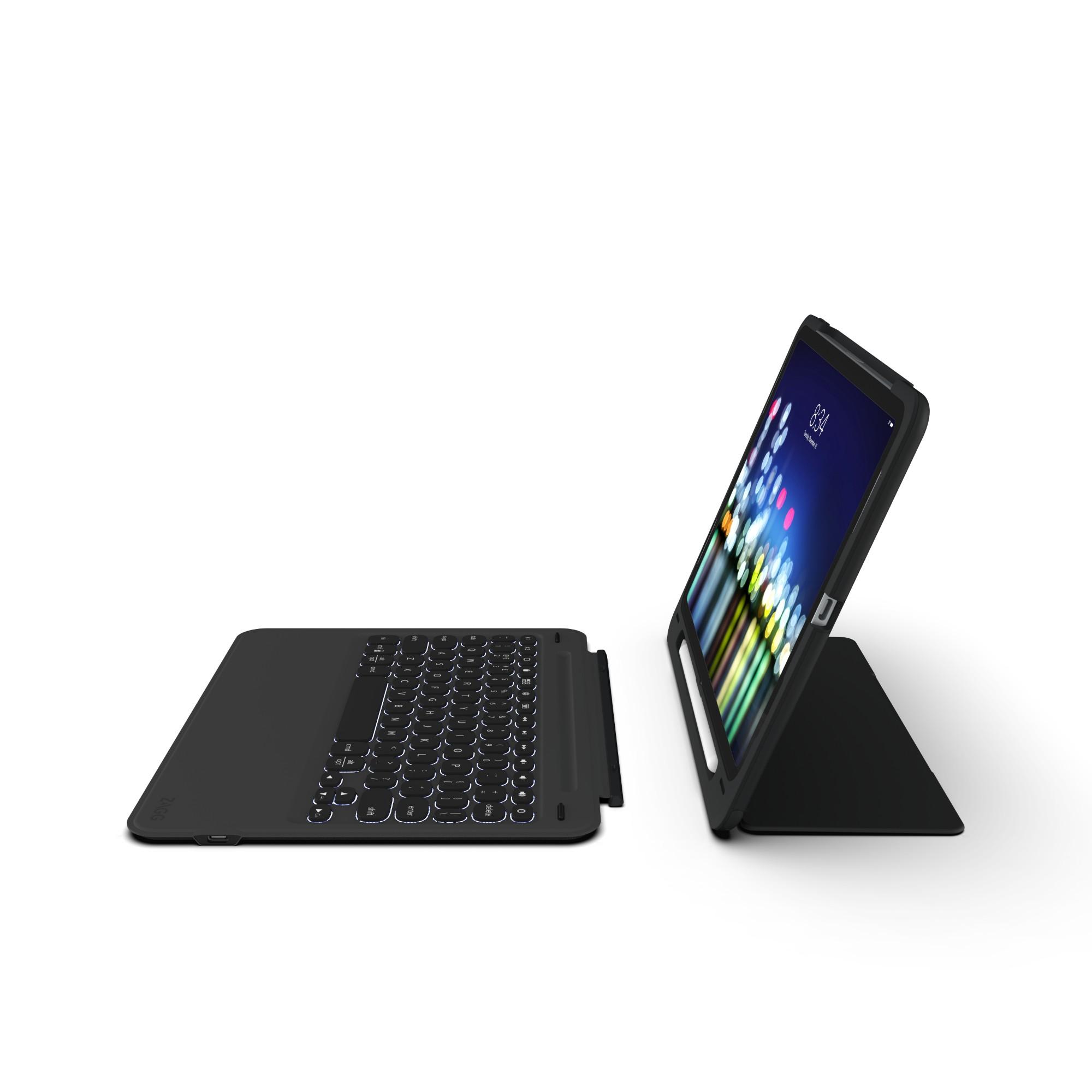 ZAGG Slim Book Go mobile device keyboard UK International Black Bluetooth