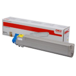 OKI 43837129 Toner yellow, 22K pages