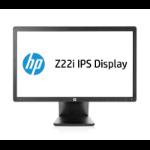 """HP Z22i 21.5"""" Full HD IPS Matt Black computer monitor"""