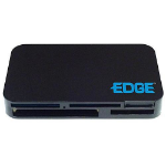 Edge All-In-One USB Card Reader USB 2.0 Black Card Reader