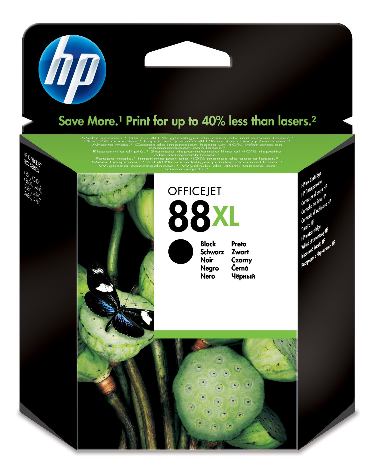 HP 88XL Origineel Zwart 1 stuk(s)