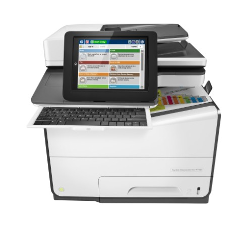 HP PageWide Enterprise Color Flow 586z 2400 x 1200DPI Thermal Inkjet A4 50ppm