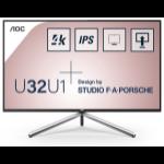"""AOC Style-line U32U1 computer monitor 80 cm (31.5"""") 3840 x 2160 pixels 4K Ultra HD LED Black"""