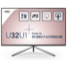 "AOC Style-line U32U1 pantalla para PC 80 cm (31.5"") 3840 x 2160 Pixeles 4K Ultra HD LED Negro"