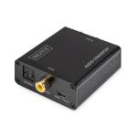 Digitus DS-40138 audio converter Black