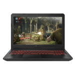 "ASUS TUF Gaming FX504GM-EN150T Black Notebook 39.6 cm (15.6"") 1920 x 1080 pixels 2.20 GHz 8th gen Intel® Core™ i7 i7-8750H"