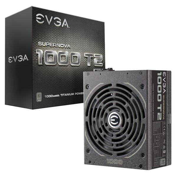 EVGA SuperNOVA 1000w T2 80+ TITANIUM MODULAR PSU
