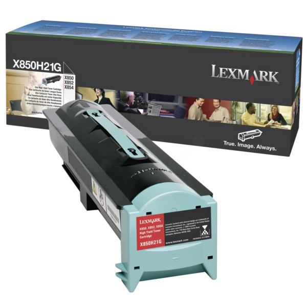 Lexmark X850H21G Toner black, 30K pages