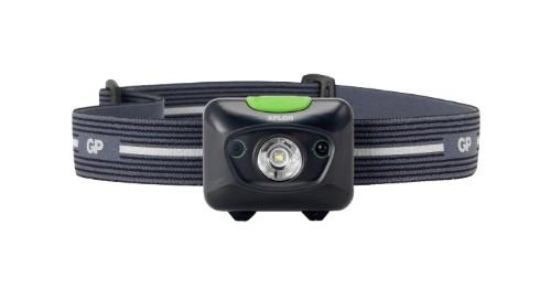 GP Batteries 455016 flashlight Hand flashlight Black, Green LED
