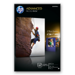 HP Advanced Glossy papel fotográfico Blanco Brillo