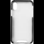 """eSTUFF ES671125-BULK mobile phone case 14.7 cm (5.8"""") Cover Black, Transparent"""