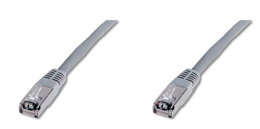 Digitus F-UTP, 50 m cable de red Cat5e F/UTP (FTP) Gris
