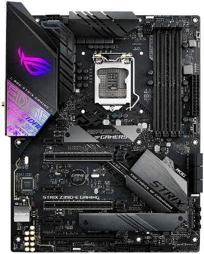 ASUS ROG STRIX Z390-E GAMING motherboard LGA 1151 (Socket H4) ATX Intel Z390