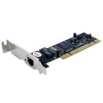 StarTech.com Adaptador Tarjeta de Red PCI NIC de Perfil Bajo de 1 Puerto Fast Ethernet 10/100Mbps RJ45