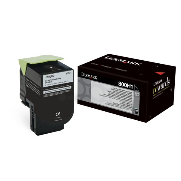 Lexmark 80C0H10 (800H1) Toner black, 4K pages