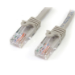 StarTech.com Cable de Red Ethernet 15m UTP Patch Snagless Sin Enganches Cat5e Cat 5e RJ45 - Gris