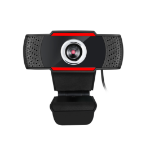 Adesso CyberTrack H3 webcam 1.3 MP 1280 x 720 pixels USB 3.2 Gen 1 (3.1 Gen 1) Black,Red