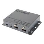 Gefen 4K Ultra HD 600 MHz 1 2 Scaler Audio De-Embedder