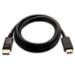 V7 Mini DisplayPort macho a HDMI macho, 2 metros, unidireccional desde DisplayPort color negro, máxima resolución de vídeo de 1080p