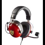 Thrustmaster New! T.Racing Scuderia Ferrari Edition Binaural Head-band Black,Red