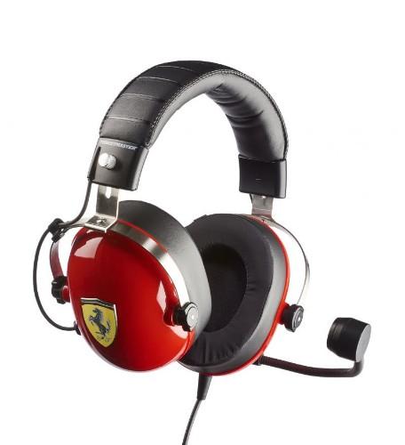 Thrustmaster New! T.Racing Scuderia Ferrari Edition Headset Head-band Black, Red