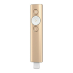 Logitech Spotlight Bluetooth/RF Gold wireless presenter 910-004862
